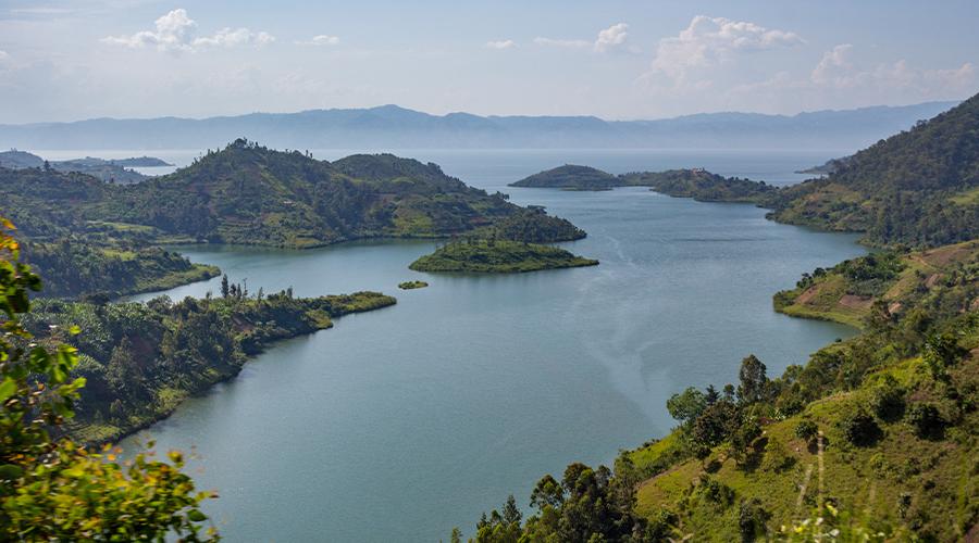 A view of Lake Kivu 2 Day Rwanda Itinerary